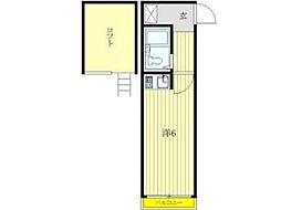 セントハイム西橋本3番館[1階]の間取り