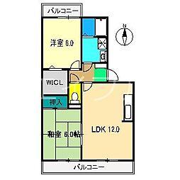 アビーロード小倉II[2階]の間取り