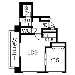 raffine(ラフィネ)31[2階]の間取り