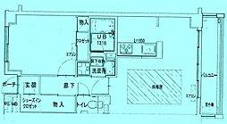 ビューコートQM[3階]の間取り