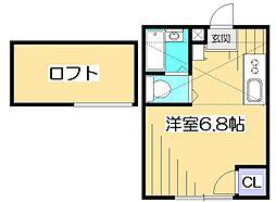 ファーストWiLL富士見台[2階]の間取り