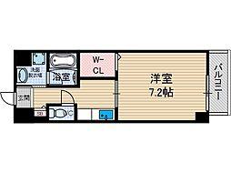 プラネット46[4階]の間取り