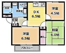 パークアベニュー[1階]の間取り