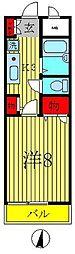 グランバリエ北小金II[3階]の間取り