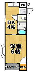 シリングコート[3階]の間取り