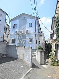 東京都北区赤羽西6丁目の賃貸アパートの外観