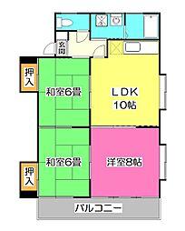 ニューエイジマンション[3階]の間取り