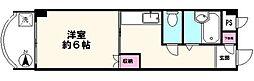 東京都足立区保木間2丁目の賃貸マンションの間取り