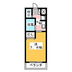 Y・K Field[4階]の間取り