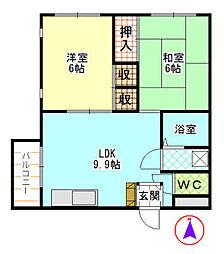 第一青木ビル[301    号室]の間取り