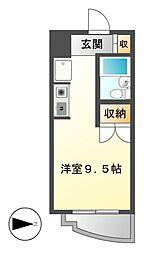 サンライン第60ビル[7階]の間取り