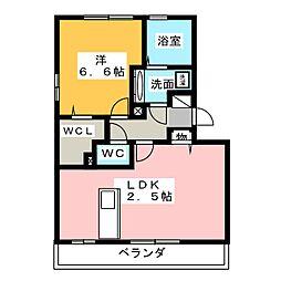 プライムステージ[3階]の間取り
