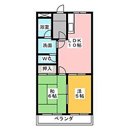 アコード上田[1階]の間取り