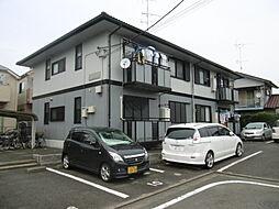 東京都八王子市楢原町の賃貸アパートの外観
