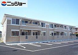 愛知県常滑市西之口4の賃貸アパートの外観