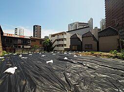 新宿区富久町 建築条件なし土地