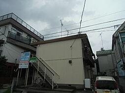 埼玉県東松山市松葉町2丁目の賃貸アパートの外観