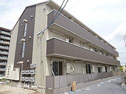 滋賀県草津市矢倉1丁目の賃貸アパートの外観