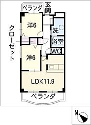 TOGETHER ITO館[1階]の間取り