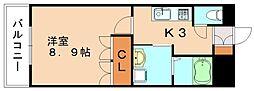 シングルコートSP[1階]の間取り