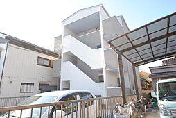 埼玉県越谷市宮本町1丁目の賃貸アパートの外観
