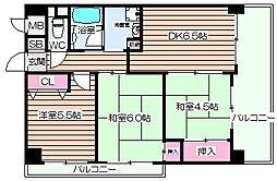 阪神ハイグレードマンション10番館[8階]の間取り