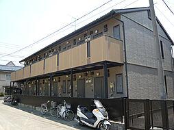 東京都大田区萩中2丁目の賃貸アパートの外観