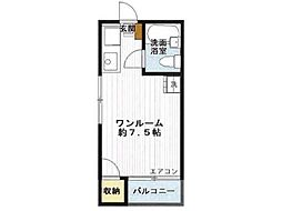 富士ビューティーハイツ[3階]の間取り