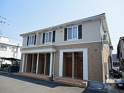 愛媛県松山市古川西1丁目の賃貸アパートの外観