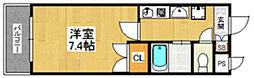 セレス香住ヶ丘3[103号室]の間取り