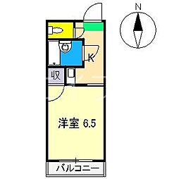 朝倉ルートハイツ[3階]の間取り