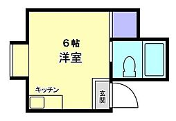 ラパンジール本田II[2階]の間取り