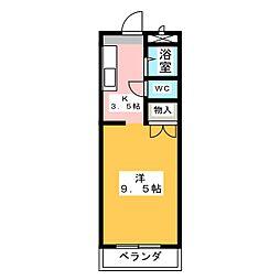 ドルフ春日井[2階]の間取り