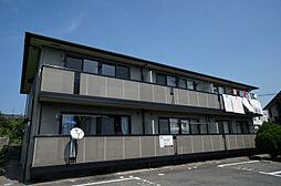 福岡県宗像市自由ヶ丘7の賃貸アパートの外観