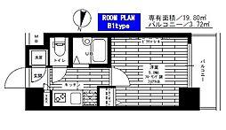 ステージファースト小石川[702号室]の間取り