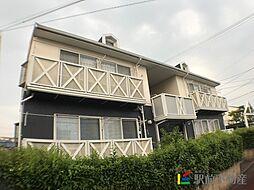 上津コーポA棟[101号室]の外観