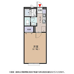 フラワーロード[2階]の間取り