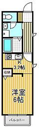 ネスト甲子園[2階]の間取り
