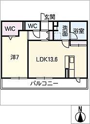 仮)D−room伏屋[3階]の間取り