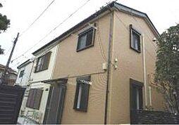 東京都板橋区赤塚6丁目の賃貸アパートの外観