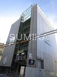 岡山県岡山市北区南方1丁目の賃貸マンションの外観