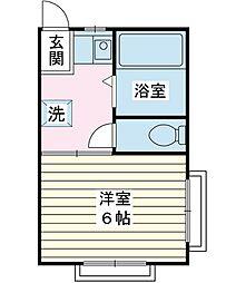 コープサカマキ[1階]の間取り