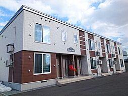 北海道名寄市大通南12丁目の賃貸アパートの外観
