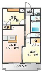 イストワール[2階]の間取り