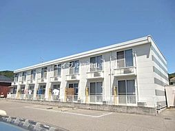 岡山県玉野市田井4丁目の賃貸アパートの外観