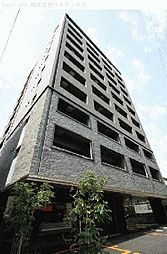 東京都文京区千駄木の賃貸マンションの外観