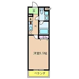 Ritz若江北(リッツワカエキタ)[2階]の間取り