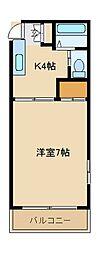 グランコート戸塚[2階]の間取り