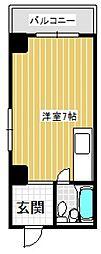 平沼マンション[202号室号室]の間取り