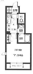 メゾンMM[1階]の間取り